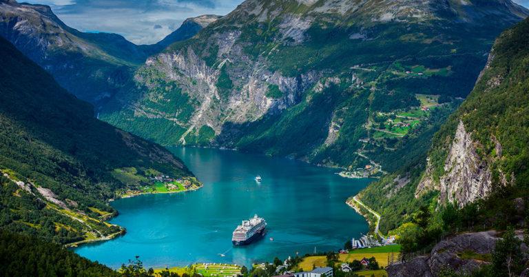 Gira på Norge, Geiranger