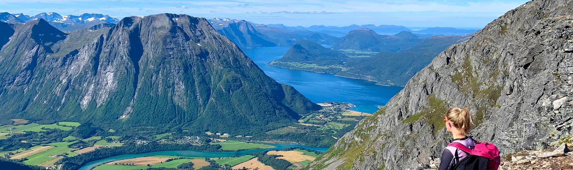 Fottur i Romsdalsalpene