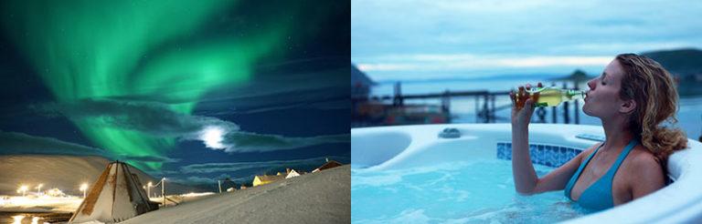 Nordlyset i Finnmark er helt fantastisk