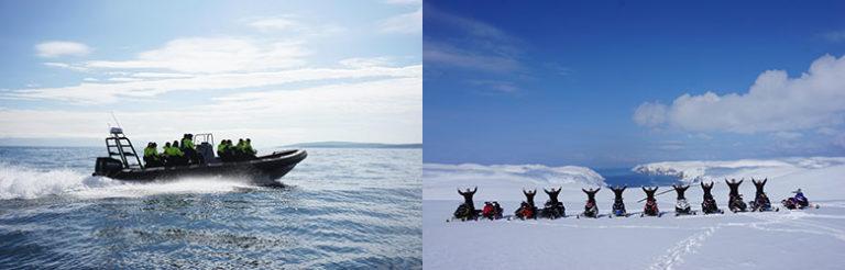 Aktiv tur i Finnmark