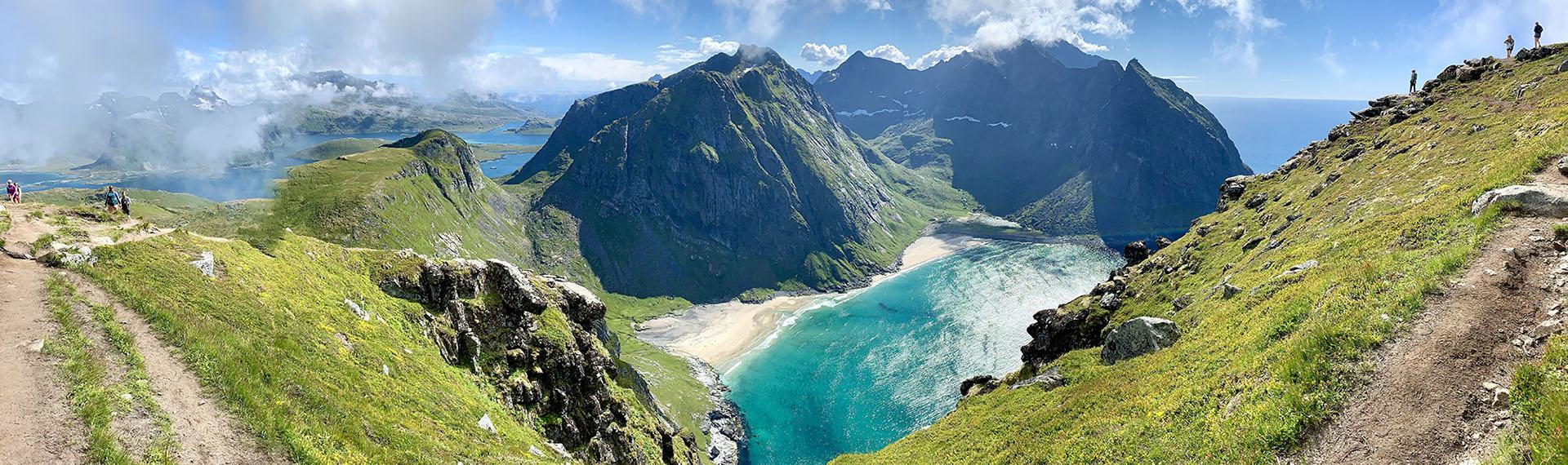 Ryten in Lofoten, Norway