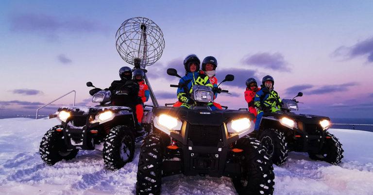 Med ATV til Nordkapp